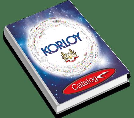KORLOY Katalógus
