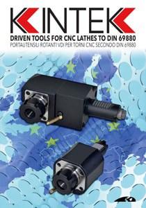 Meghajtott szerszámok CNC DIN69880